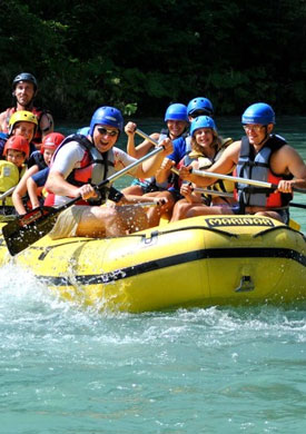 Rafting Bled