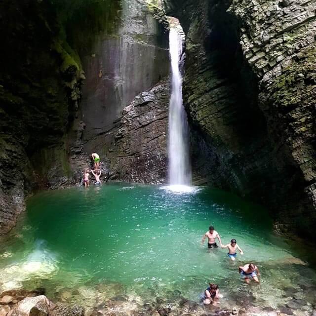 soča waterfall