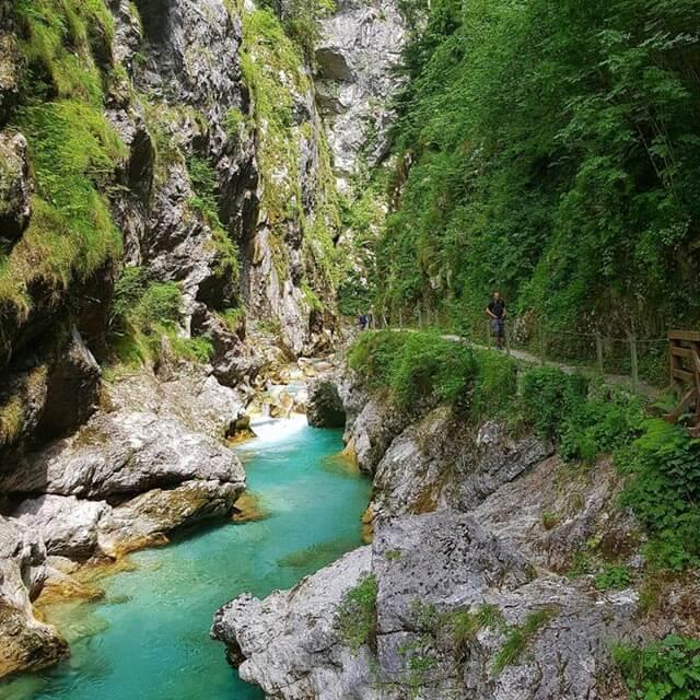 soča river gorge