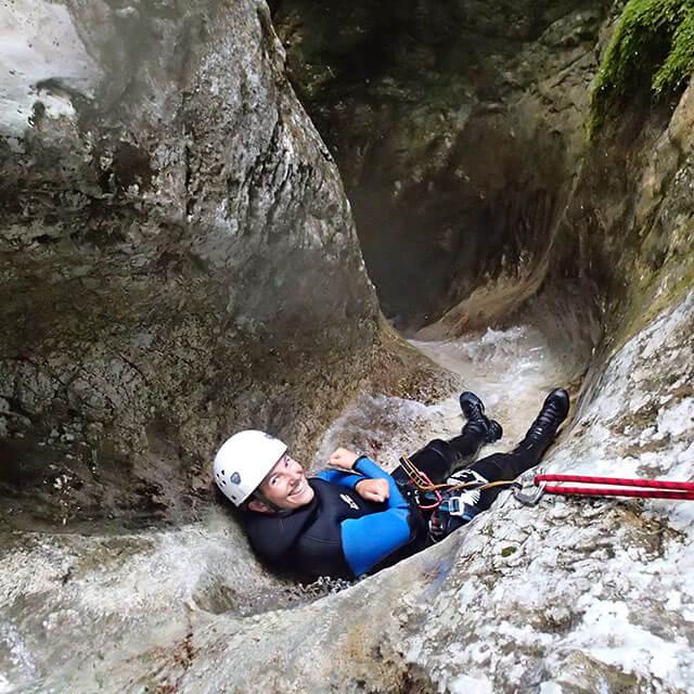 canyoning bled - soteskanje